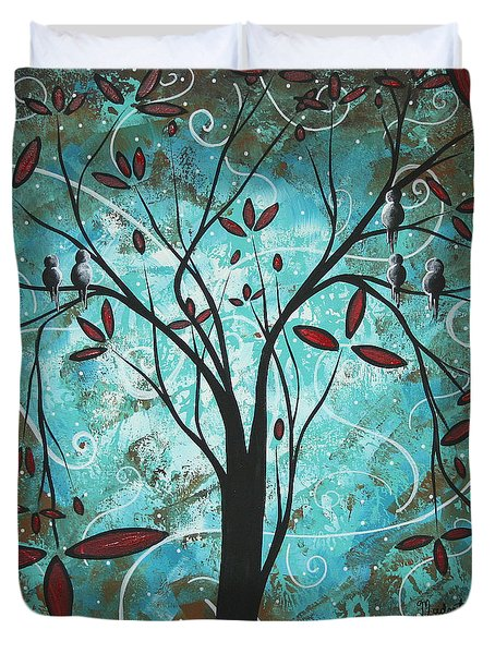 Romantic Evening By Madart Duvet Cover by Megan Duncanson