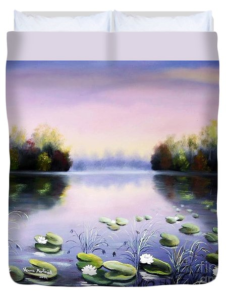 Romantic Lake Duvet Cover