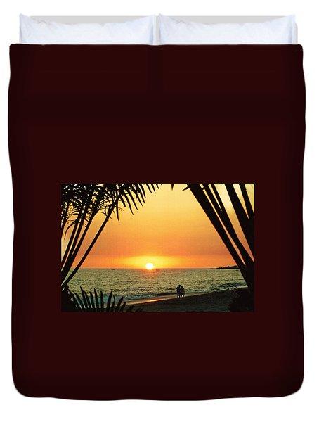 Romantic Sunset Duvet Cover