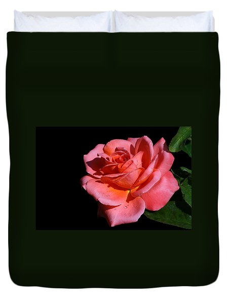Duvet Cover featuring the photograph Romantica by Doug Norkum