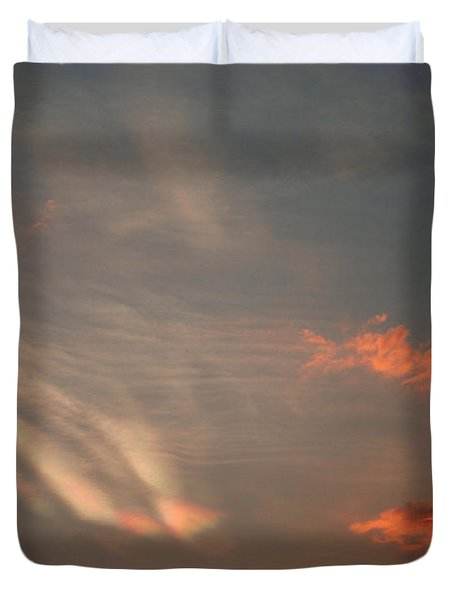 Romantic Sky Duvet Cover by Kiran Joshi