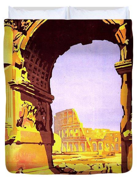 Rome Express Duvet Cover