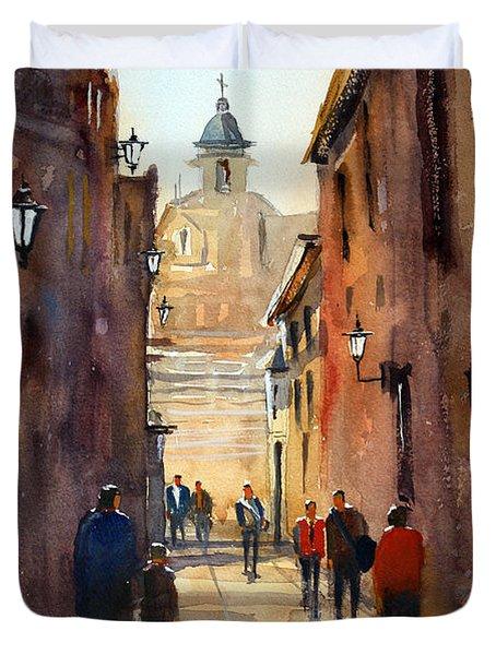 Rome Duvet Cover by Ryan Radke