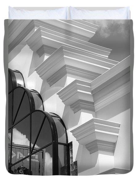 Ron Jons Surf Shop Architecture 1 Duvet Cover