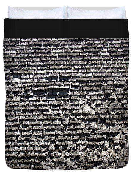 Roof Textures Duvet Cover