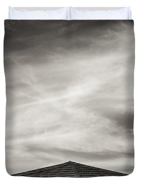 Rooftop Sky Duvet Cover