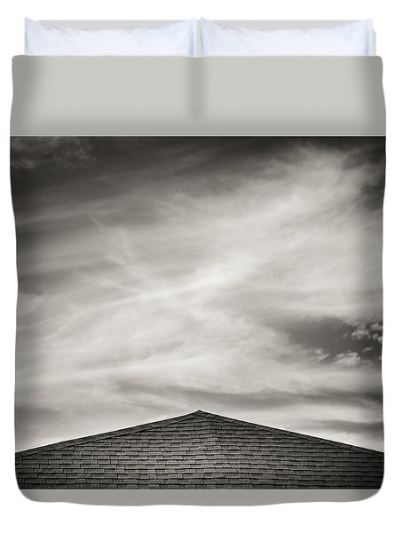 Rooftop Sky Duvet Cover