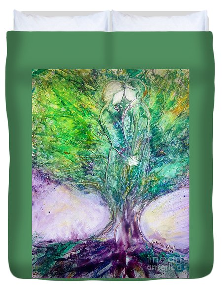 Rooted In Love Duvet Cover