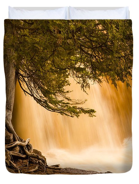 Rooted In Spring Duvet Cover
