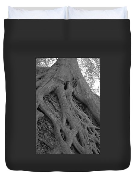 Roots II Duvet Cover by Suzanne Gaff