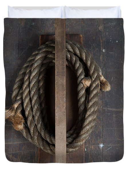 Rope Holder Duvet Cover