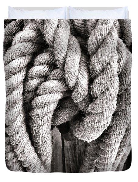 Rope Duvet Cover