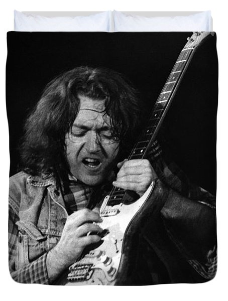 Rory Gallagher 1 Duvet Cover