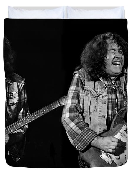 Rory Gallagher Duvet Cover