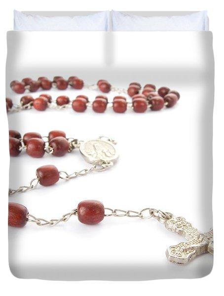 Rosary Beads Duvet Cover by Jose Elias - Sofia Pereira