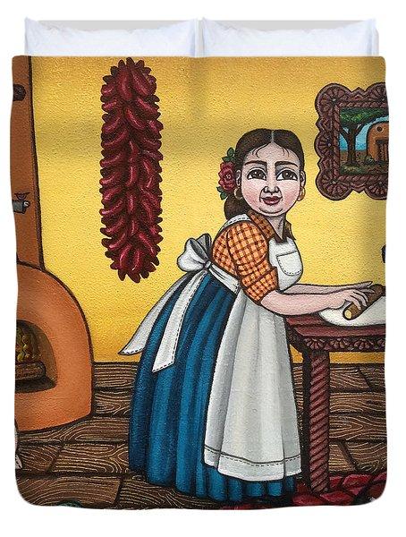 Rosas Kitchen Duvet Cover