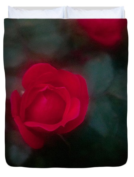 Rose 1 Duvet Cover by Travis Burgess