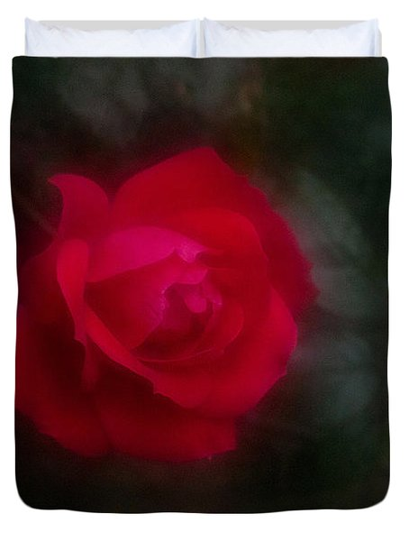 Rose 2 Duvet Cover by Travis Burgess