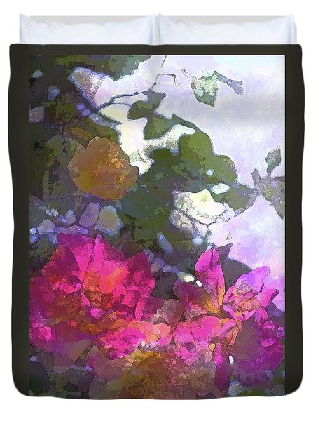 Duvet Cover featuring the photograph Rose 206 by Pamela Cooper