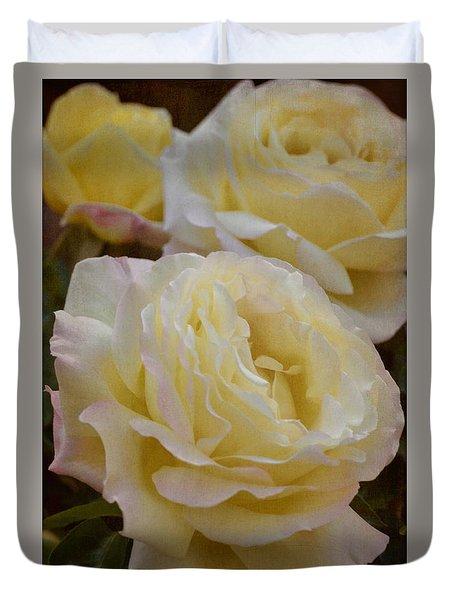 Rose 313 Duvet Cover by Pamela Cooper