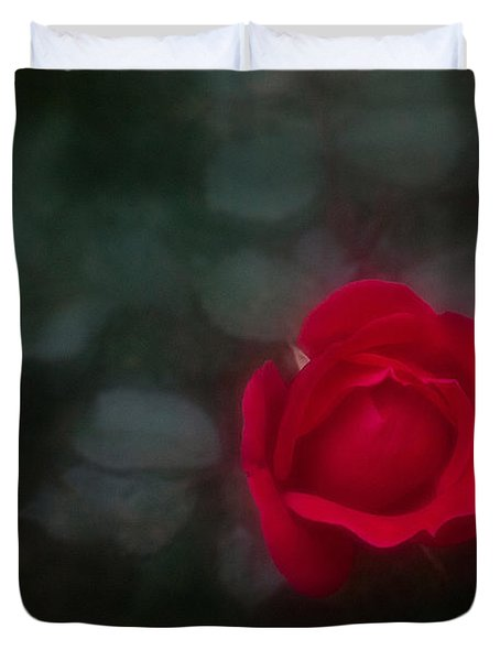 Rose 4 Duvet Cover by Travis Burgess