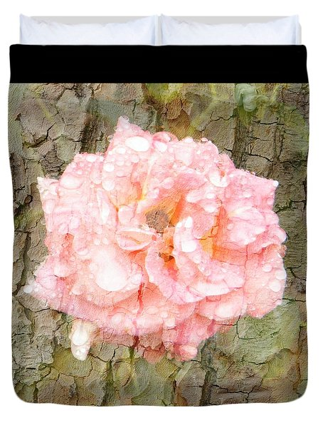 Rose Bark Duvet Cover by Amanda Eberly-Kudamik