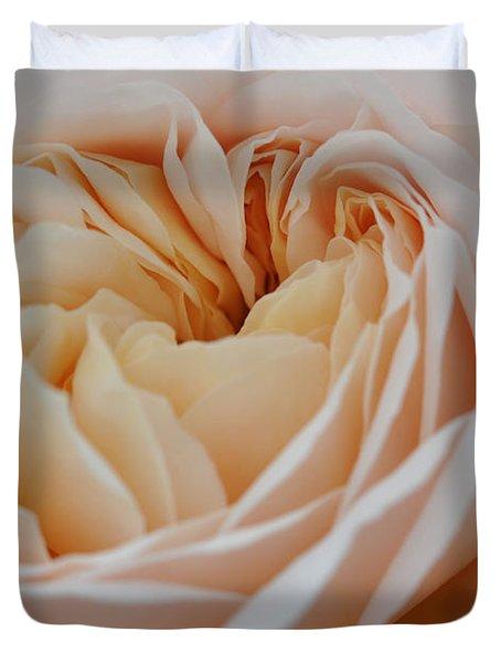 Rose Blush Duvet Cover by Sabine Edrissi