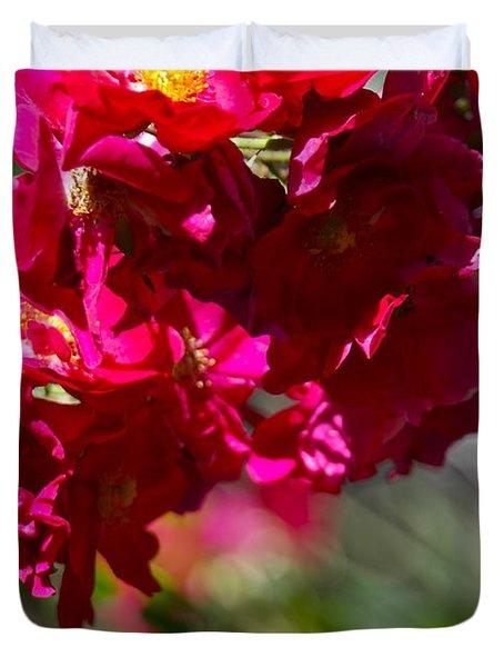 Rose Bouquet Duvet Cover