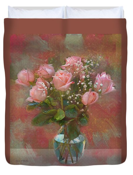 Rose Bouquet Duvet Cover by Sandi OReilly