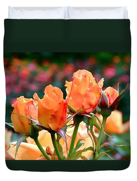 Rose Bunch Duvet Cover