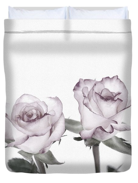 Rose Duvet Duvet Cover