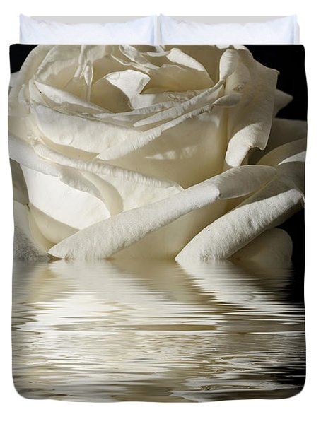 Rose Flood Duvet Cover by Steve Purnell