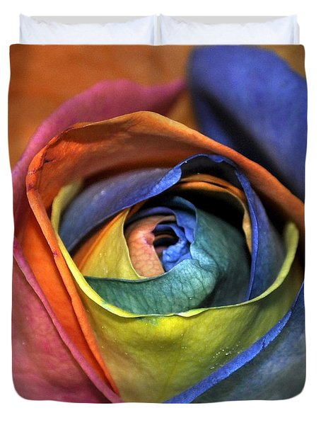 Rose Of Equality Duvet Cover