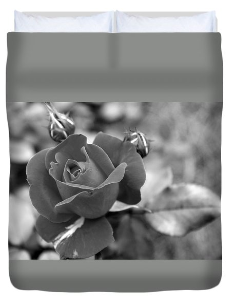 Rose Of Grace Duvet Cover by Faith Williams