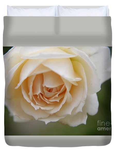 Rose... Pure And Simple  Duvet Cover