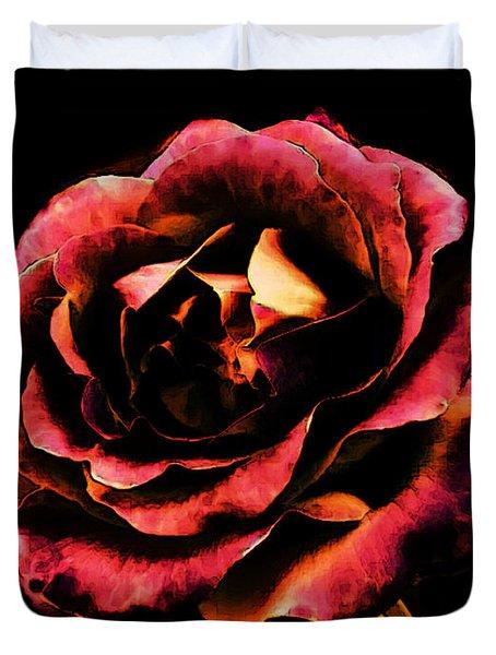 Rose Red Duvet Cover