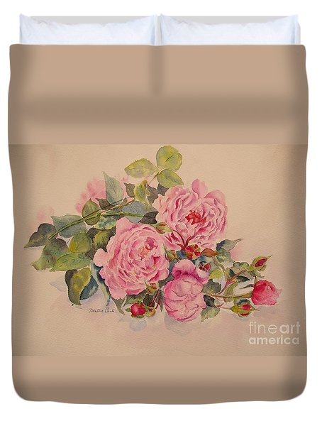 Roses And More Roses Duvet Cover