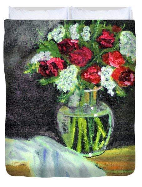 Roses For Mother's Day Duvet Cover