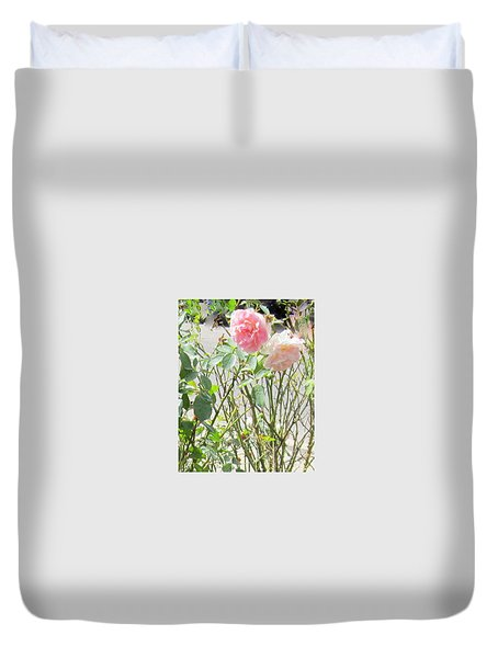 Missing You Greeting Card Duvet Cover