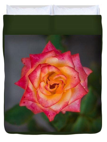 Roses From My Garden Duvet Cover