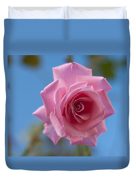 Roses In The Sky Duvet Cover