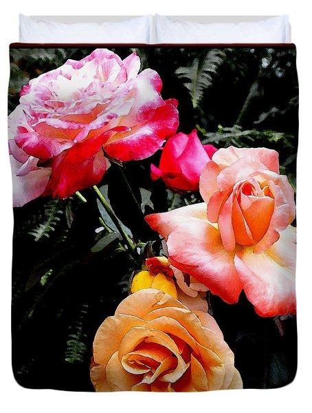 Roses Roses Roses Duvet Cover