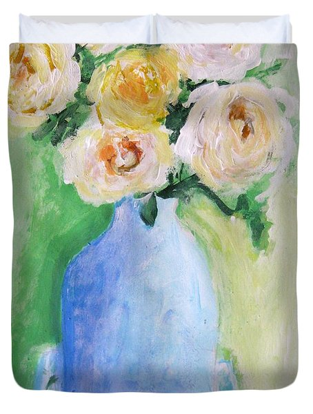 Roses Duvet Cover by Venus