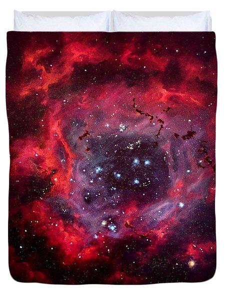 Rosetta Nebula Duvet Cover by Marie Green