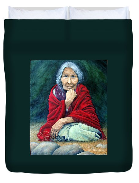 Rosie Remembered Duvet Cover by Joey Nash