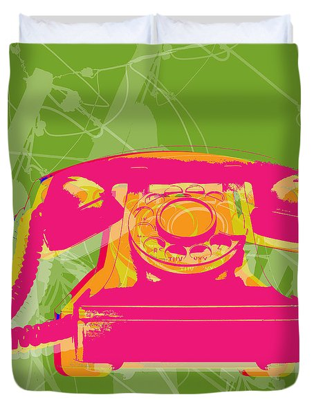 Rotary Phone Duvet Cover
