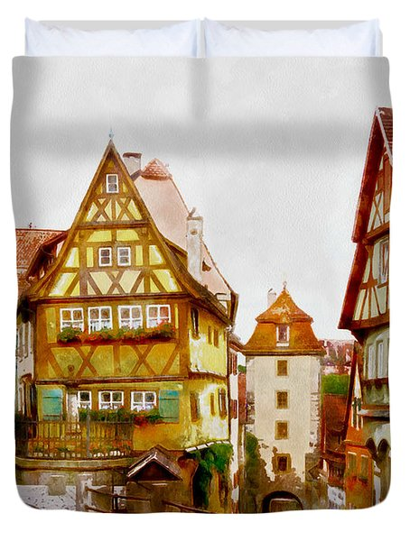 Rothenburg Duvet Cover