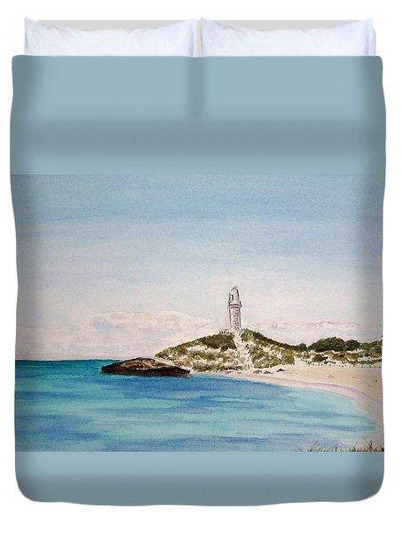 Rottnest Island Australia Duvet Cover