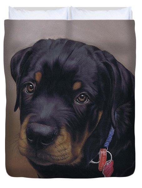 Rottweiler Dog Duvet Cover