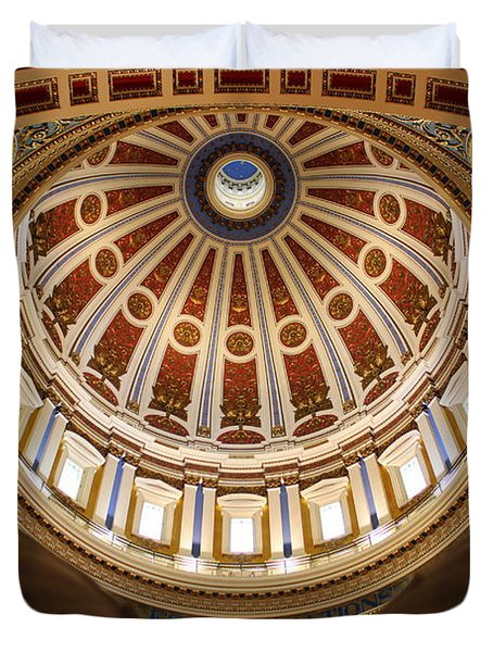Rotunda Dome On Wings Duvet Cover